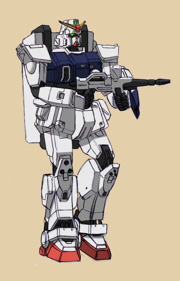 RX-79[G] Ground Gundam by Rom-Stol