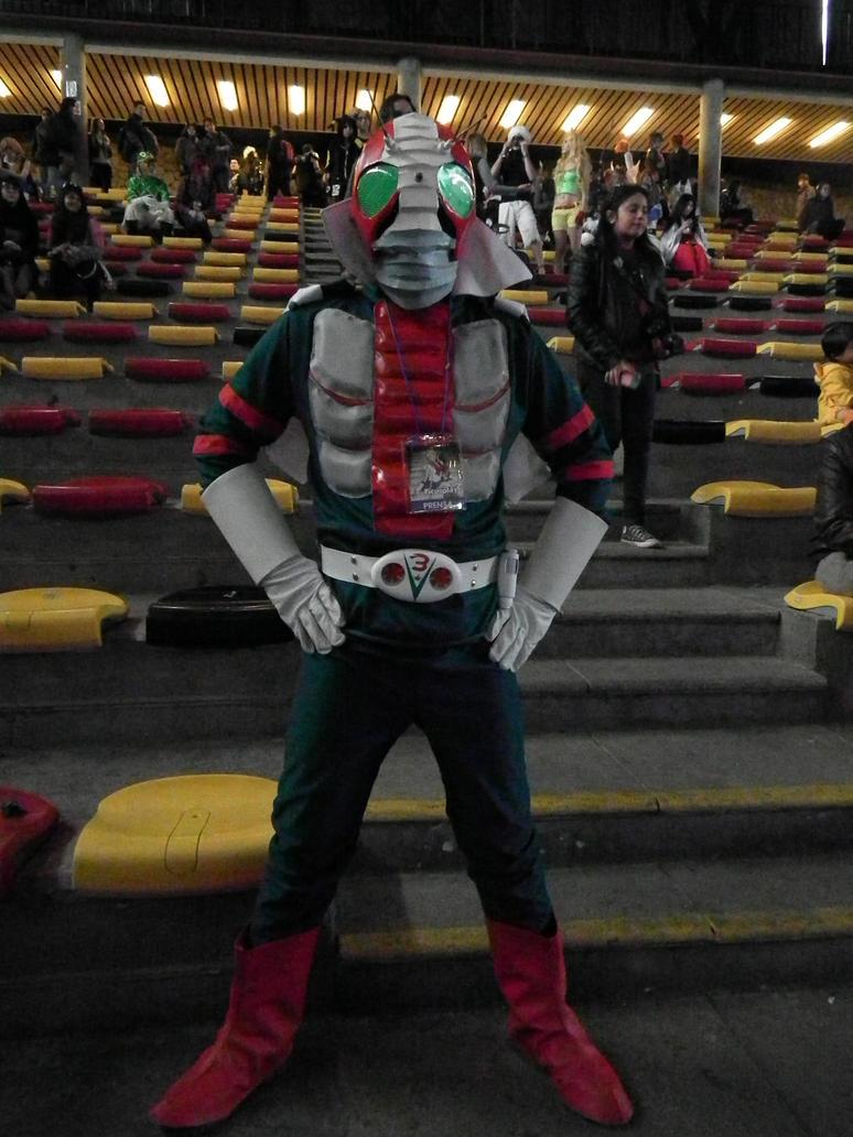 Kamen Rider V3 Cosplay (4) by Rom-Stol