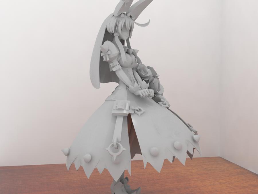 Elphelt digital figure by Rom-Stol
