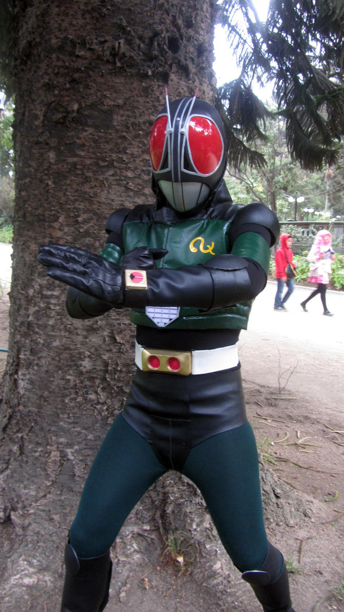 Kamen Rider Black RX Cosplay by Rom-Stol