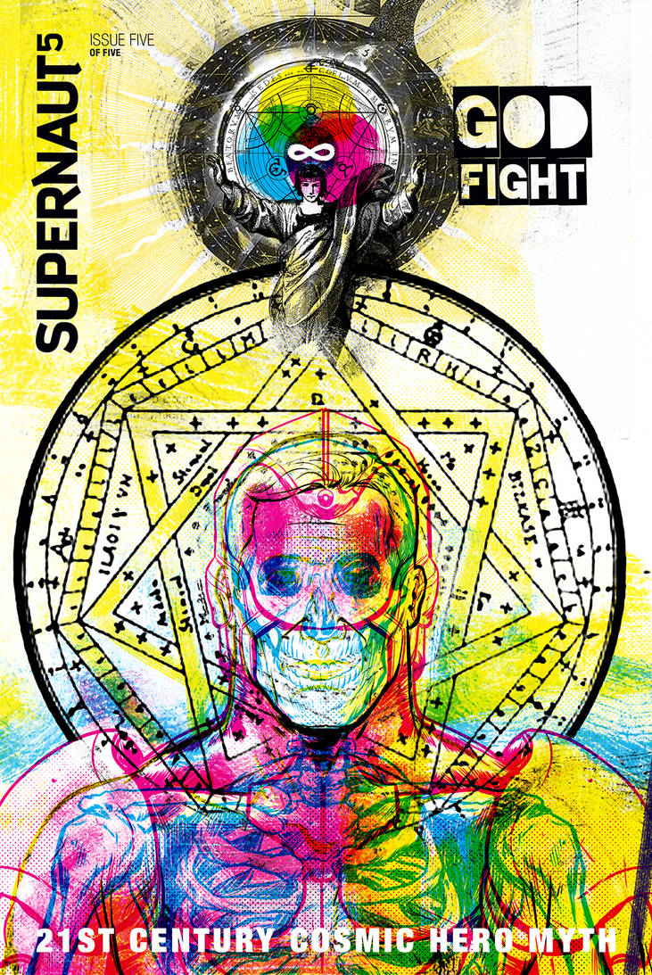SUPERNAUT - #5 Cover Illustration