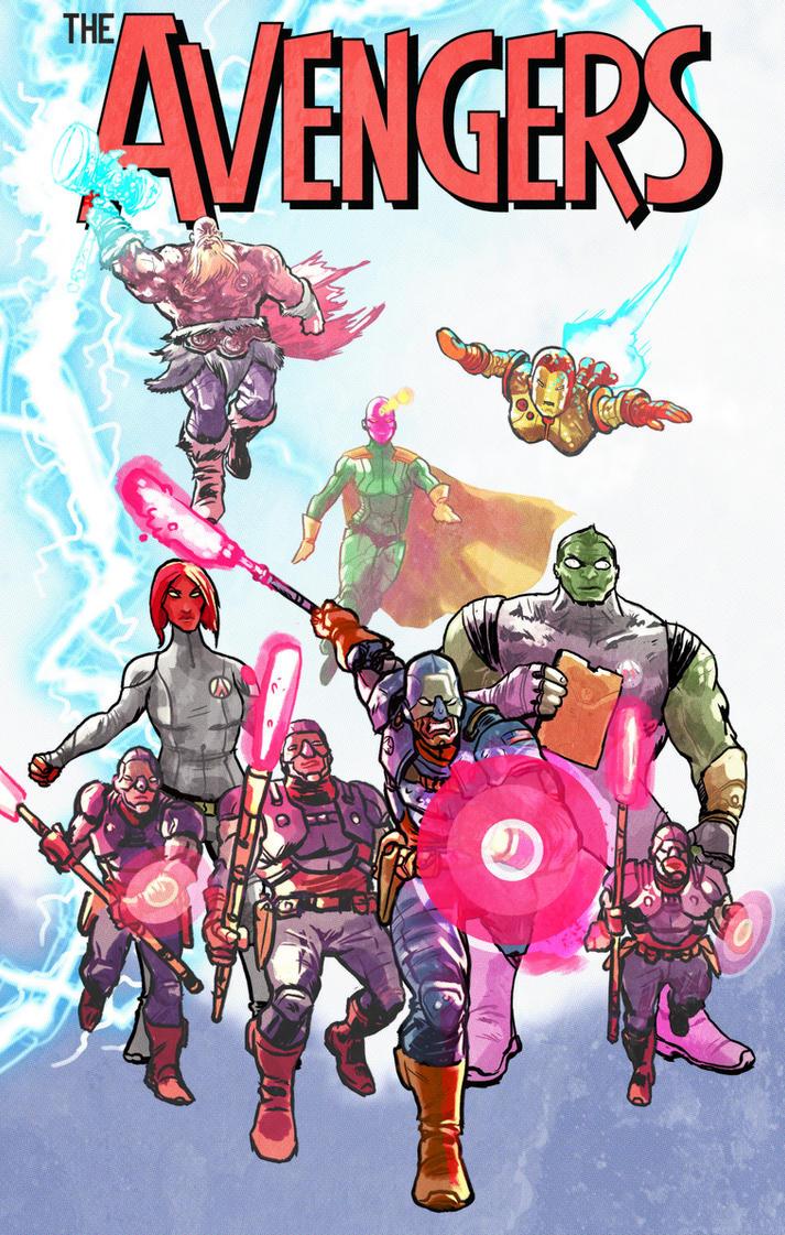 Avengers, Assemble!! by mthemordant