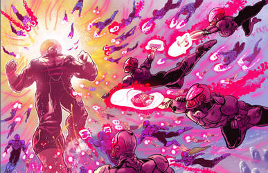 Supernaut #5 Splash Page by mthemordant