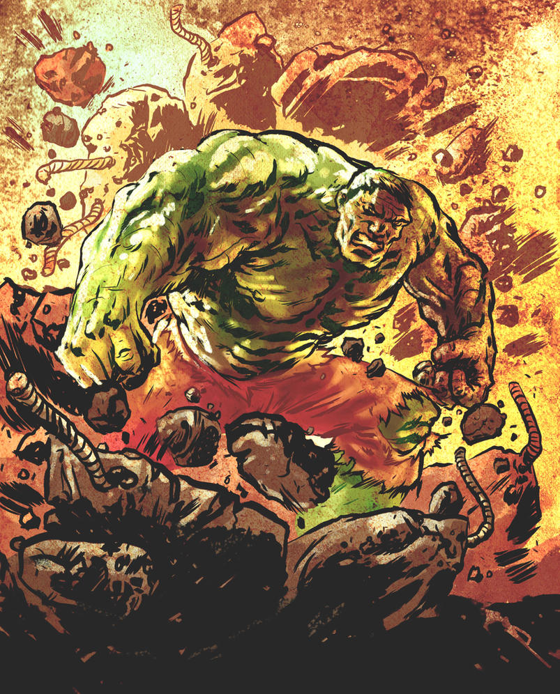 Hulk SMASH! by mthemordant