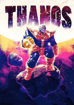 Thanos - Digital Drawing