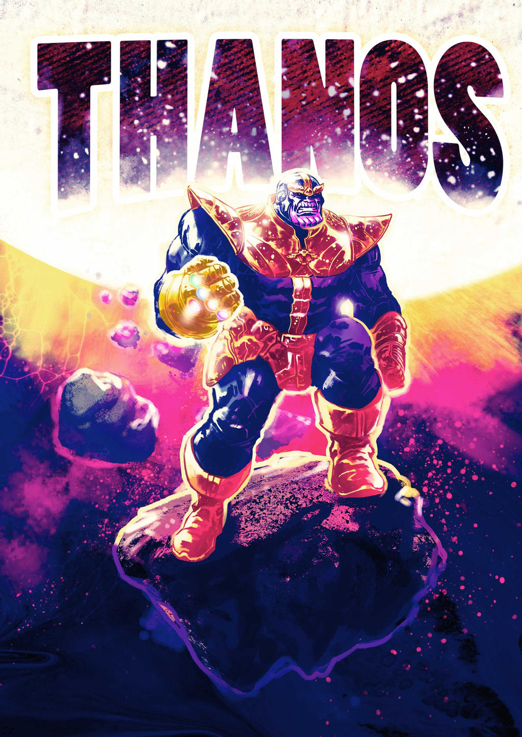 Thanos - Digital Drawing
