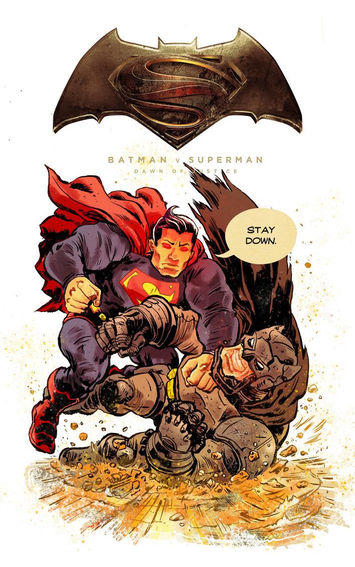 Batman v Superman by mthemordant