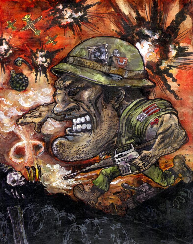 OMEGA MAN 1 - G. I. Shmoe by mthemordant