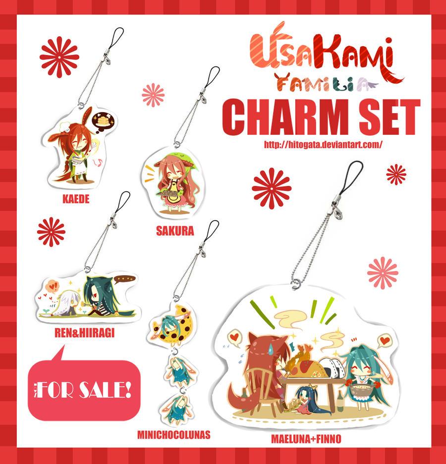 Usakami Familia Charm Set by hitogata