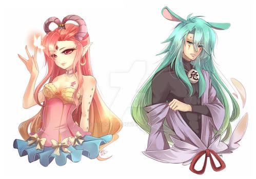 COM: Odettia and Usagichi
