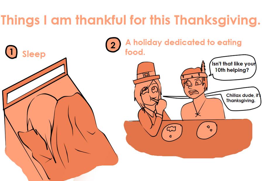 Thanksgiving by QueenIntrovert