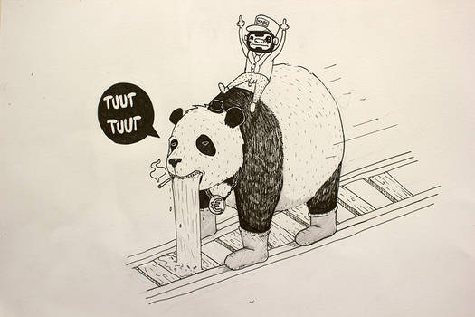 Tuut Tuut I'm a train!