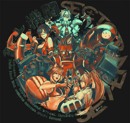 Sector Seven T-Shirt Illustration by scrubbyink