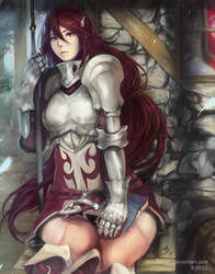 Fire Emblem Awakening - Cordelia by scrubbyink