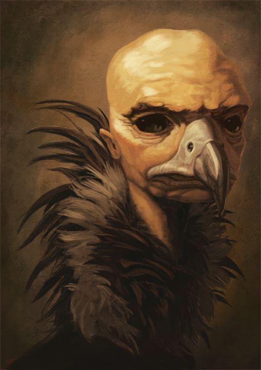 Leonard Grey portrait by The-Strynx