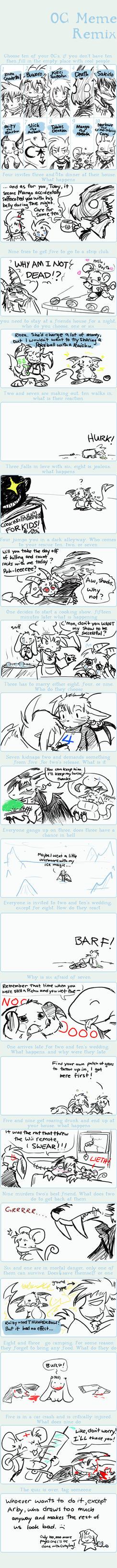 OC Art Meme by raizy