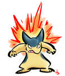 Angry Little Typhlosion