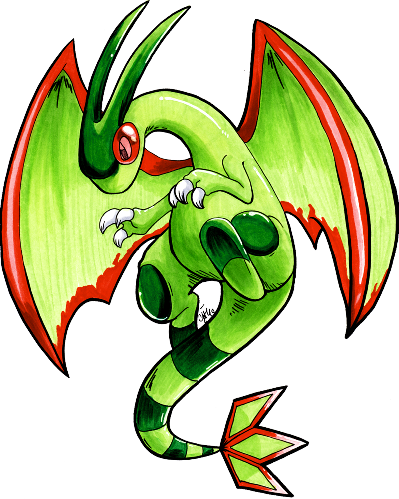 Student Flygon by raizy