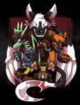 Commission - Villains by raizy