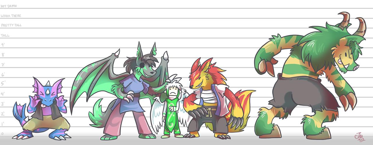 Commission - Demon Lineup