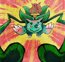 Chousen Ivysaur by raizy