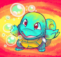 Chousen Squirtle by raizy