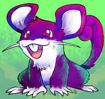 Chousen Rattata by raizy