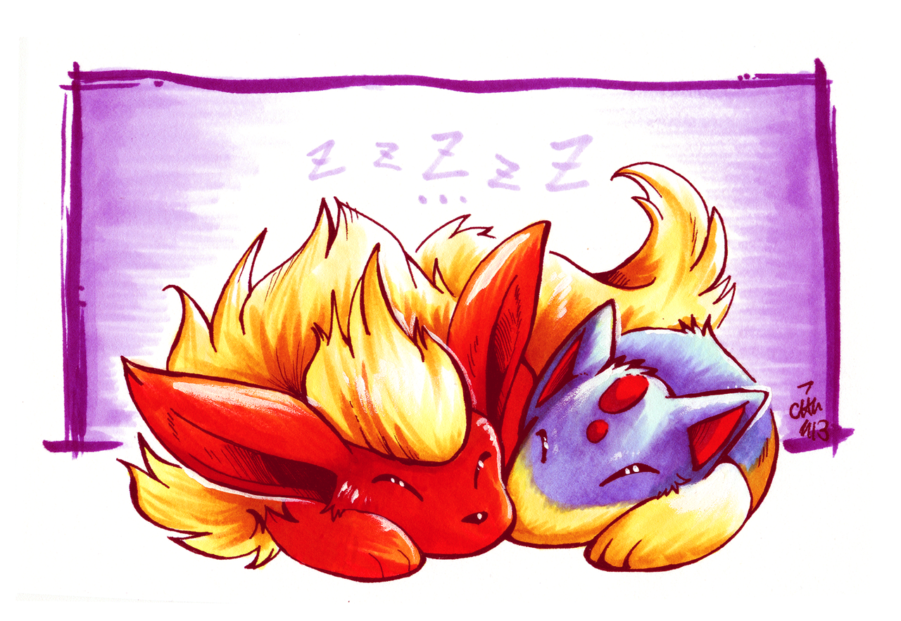 Sleepy Fire by raizy