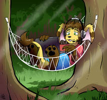 Commission - Forest WiFi by raizy