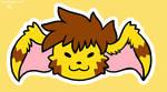 Goofy Rhea Head by raizy