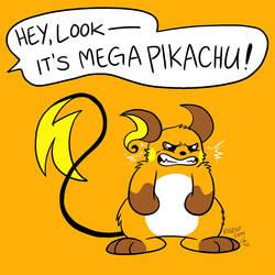 Mega Pikachu by raizy