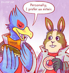 Falco's Preference by raizy