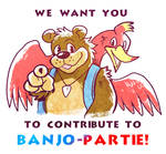 Banjo-Partie! Wants You
