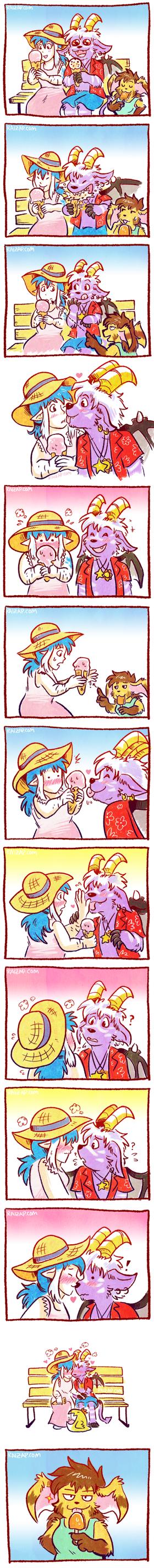 Ice Cream Kisses by raizy
