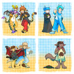 TwoKinds and Slightly Damned Clothing Swap