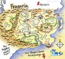 Updated Map of Fragaria by raizy