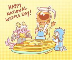 Happy National Waffle Day! by raizy