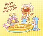 Happy National Waffle Day!