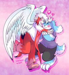 Buwaro the Angel Loves Kieri the Demon