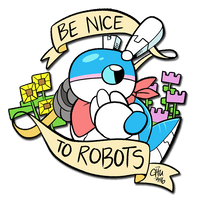 Be Nice to Robots by raizy