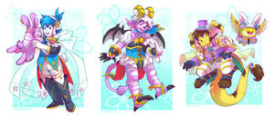 Spring Fire Emblem Costumes