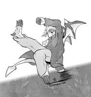 [RSD] Breakdancing Buwaro by raizy