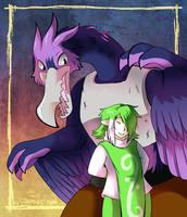 Cyran and Friend by raizy