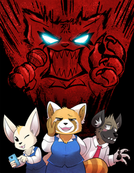 Aggretsuko by raizy