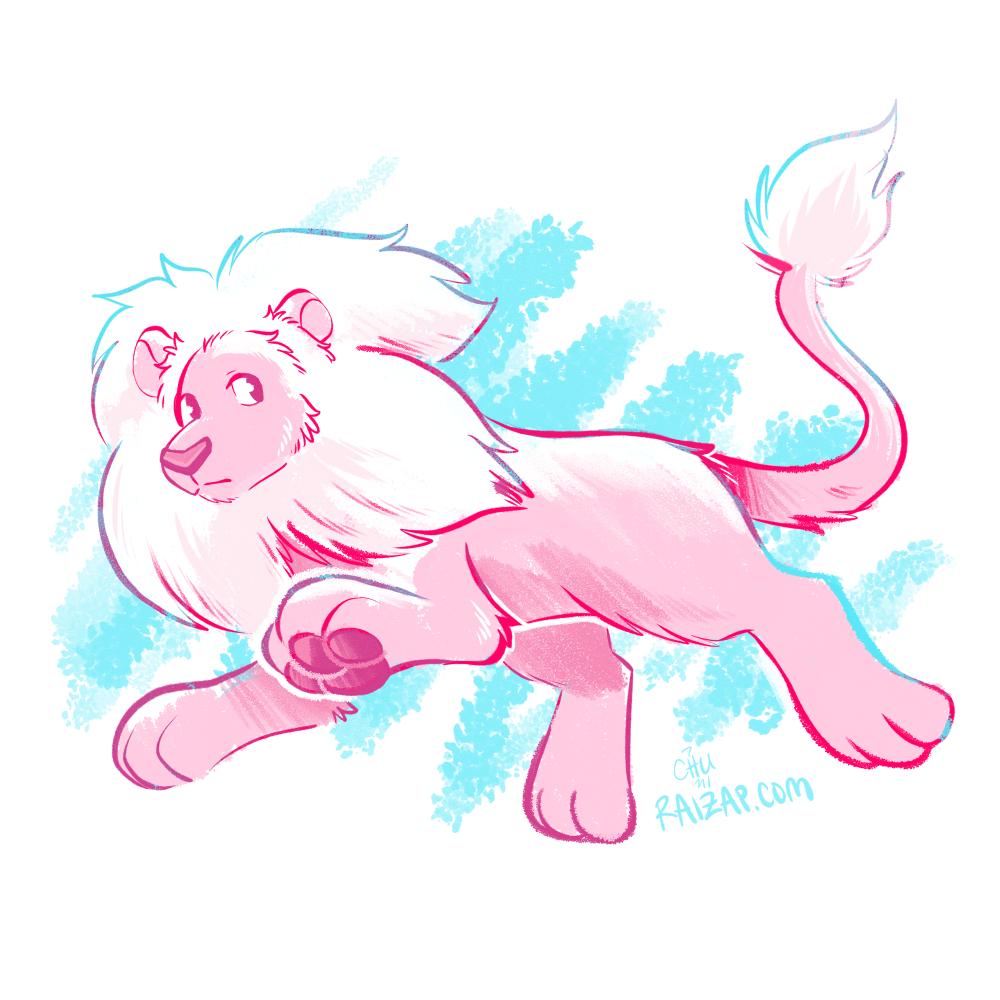 It's Lion! by raizy