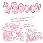 $8000 Reached!