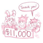 $11,000 Reached!