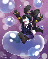 [Commission] Dazzle on a Bubble by raizy