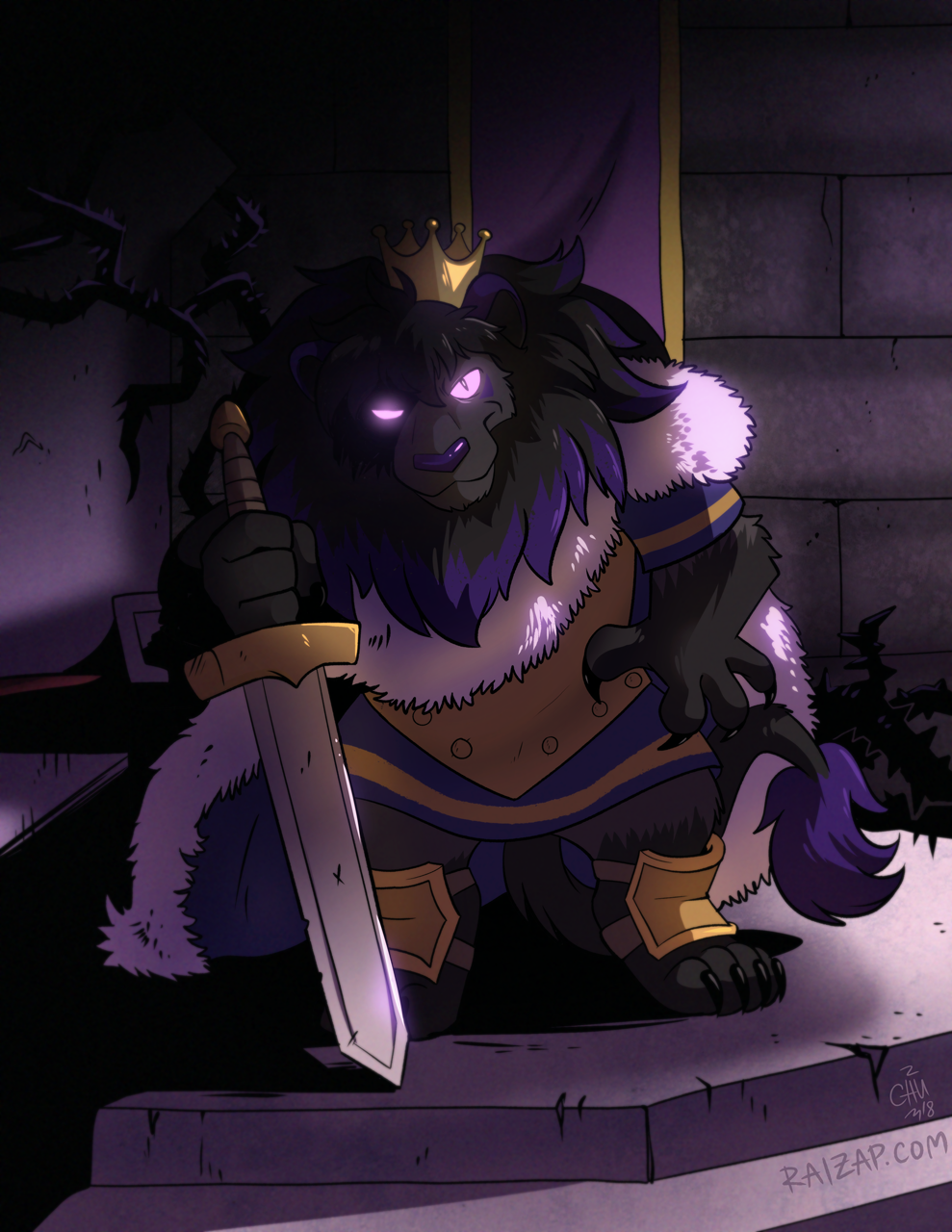 [Commission] King JD by raizy