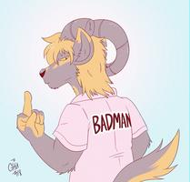 Azurai Badman by raizy
